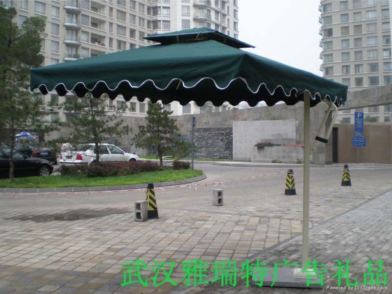 方形單邊傘 1
