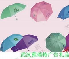 武漢折疊廣告傘