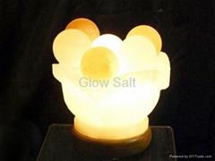 Ball Bowl Salt Lamp