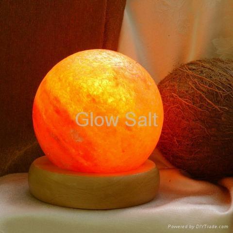 Circle Salt Lamp 1