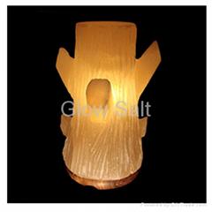 Autumn Tree salt lamp
