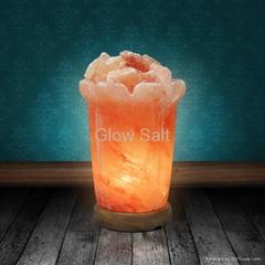 皇冠支柱鹽燈