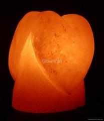 Queen of hearts Salt Lamp