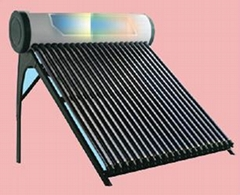 Solar Heat Pipe  pressurized  water heater with enamel tank Keymark Certified
