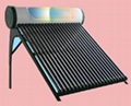 Heat Pipe pressurized solar  water