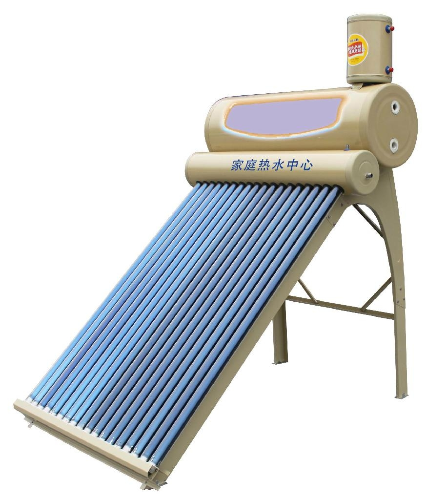 Scale Deposit Free  Double-Stainless-Tank Solar Water Heater