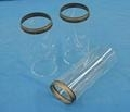 Diameter 125mm Glass tube with