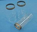 Diameter 125mm Glass tube with Kovar for