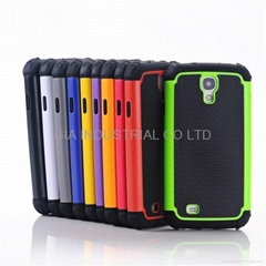 Heavy Duty Hybrid Rugged Hard Case Cover For Samsung Galaxy S4 SIV i9500 Protect