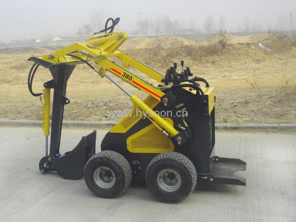 Mini Skid Steer Loader - HY380 - HYSOON (China ...