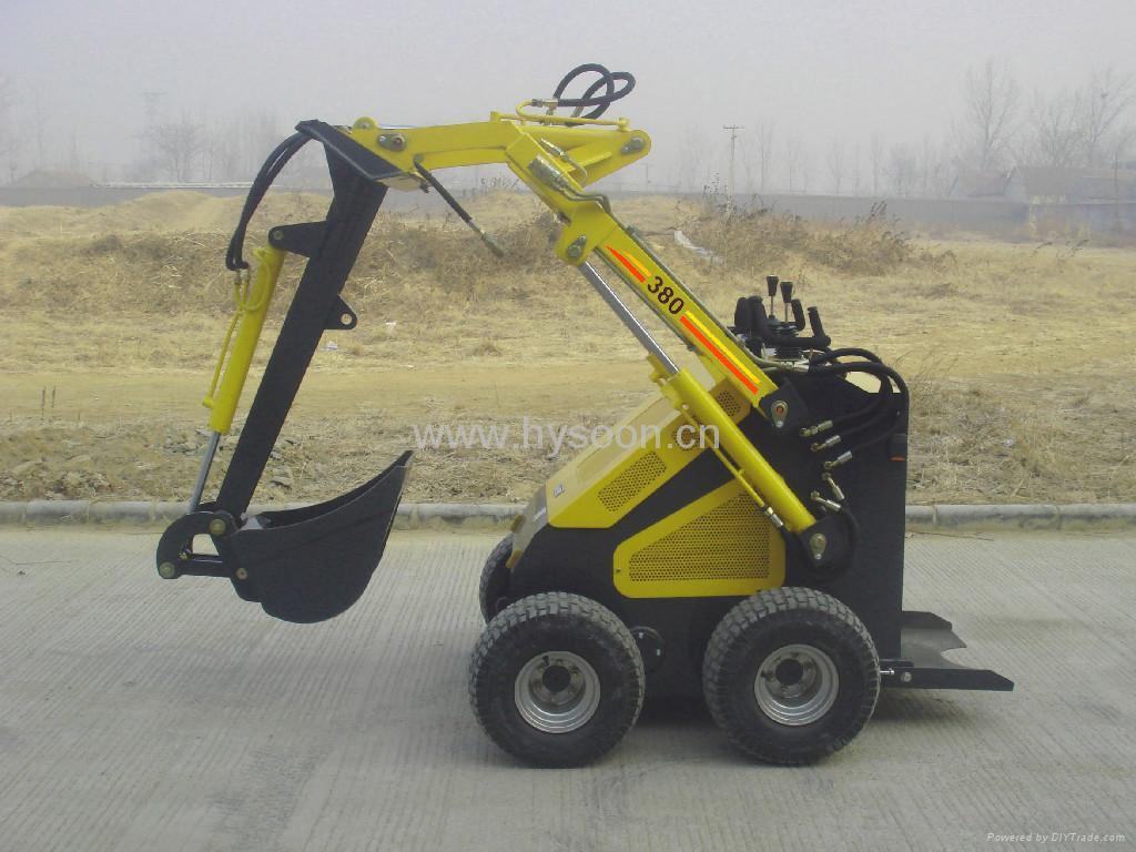 Skid Steer Tools : Mini skid steer loader hy hysoon china