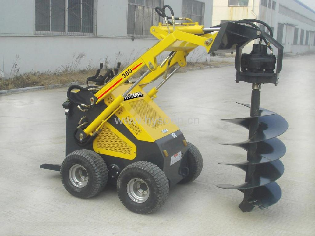 Mini Skid Steer : Mini skid steer loader hy hysoon china