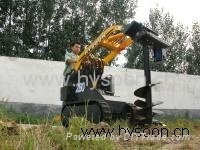 Mini Skid Steer Loader With Auger Drill