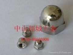 316材质盖形螺母 M4
