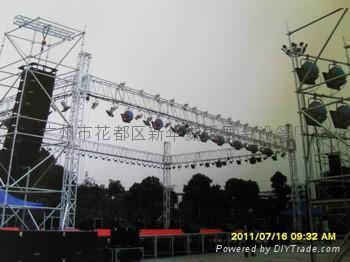 鋁合金燈光架 4