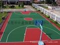 桂林硅PU球場、桂林籃球場翻新