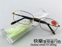 2012熱賣水晶老花鏡 江湖產品水晶老花鏡
