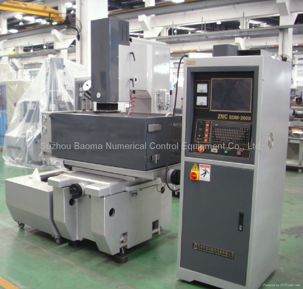 EDM350ZNC 直流伺服宝玛牌单轴数控成型机 2