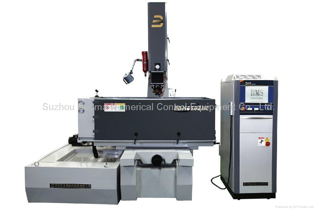 EDM650ZNC  台面移动式单轴数控成型机 1