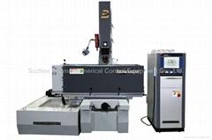 EDM650ZNC  台面移動式單軸數控成型機