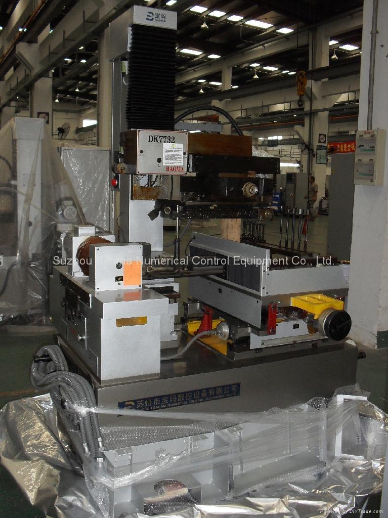 CNC Wire Cut EDM DK7725  2