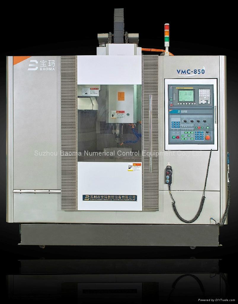 BVMC850 Baoma Vertical Machining Center FANUC system - China -