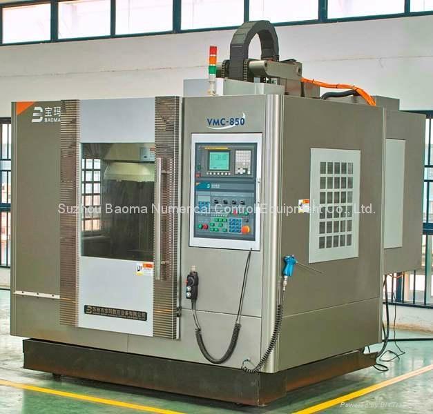 BMVC850 宝玛立式加工中心发那科系统 2