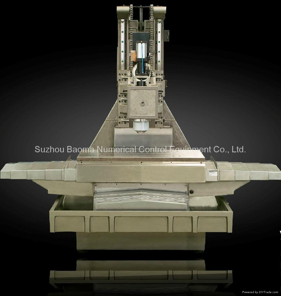 BMVC850 寶瑪立式加工中心發那科系統 5