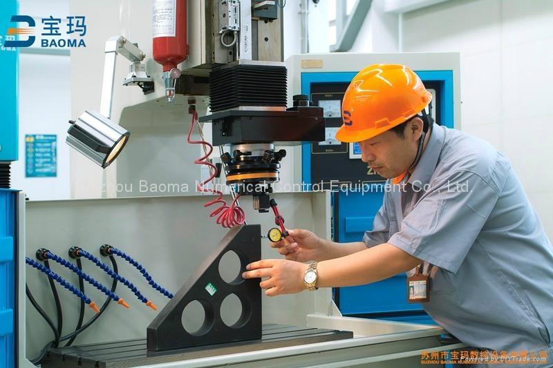 EDM650ZNC  台面移动式单轴数控成型机 3