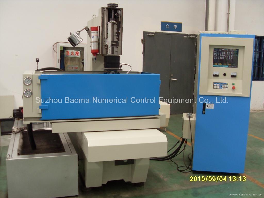 EDMN3010CNC雙立柱CE全數控牛頭式交流伺服成型機 3
