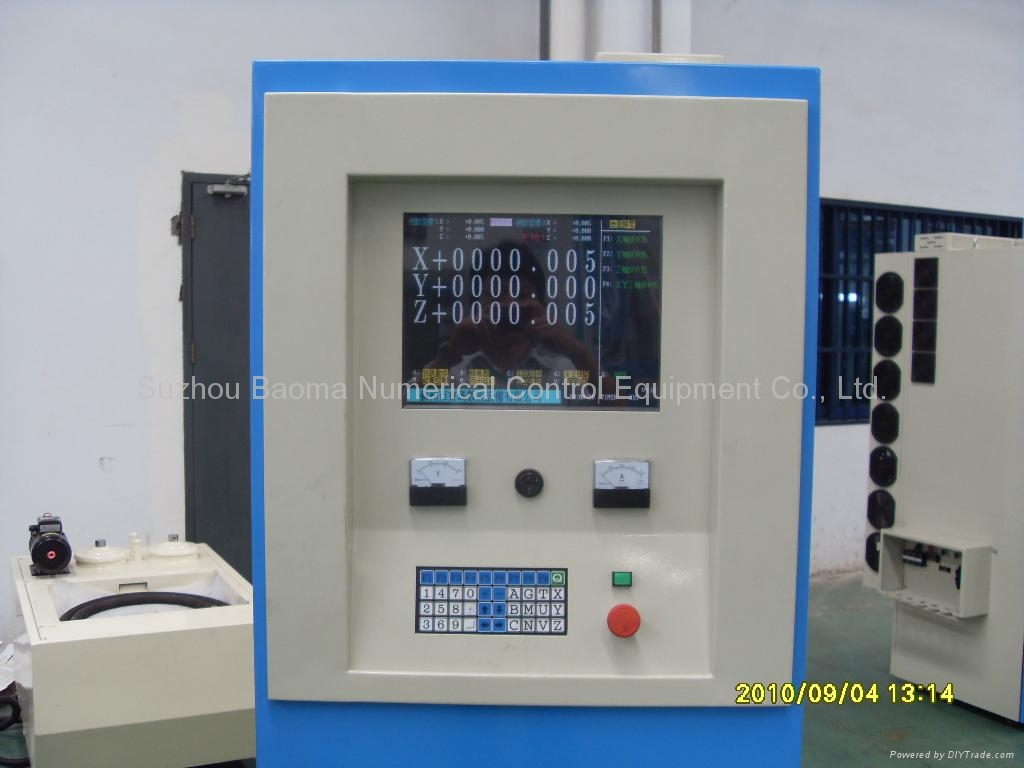 EDMN1260CNC 單軸直流伺服全數控牛頭式成型機 4