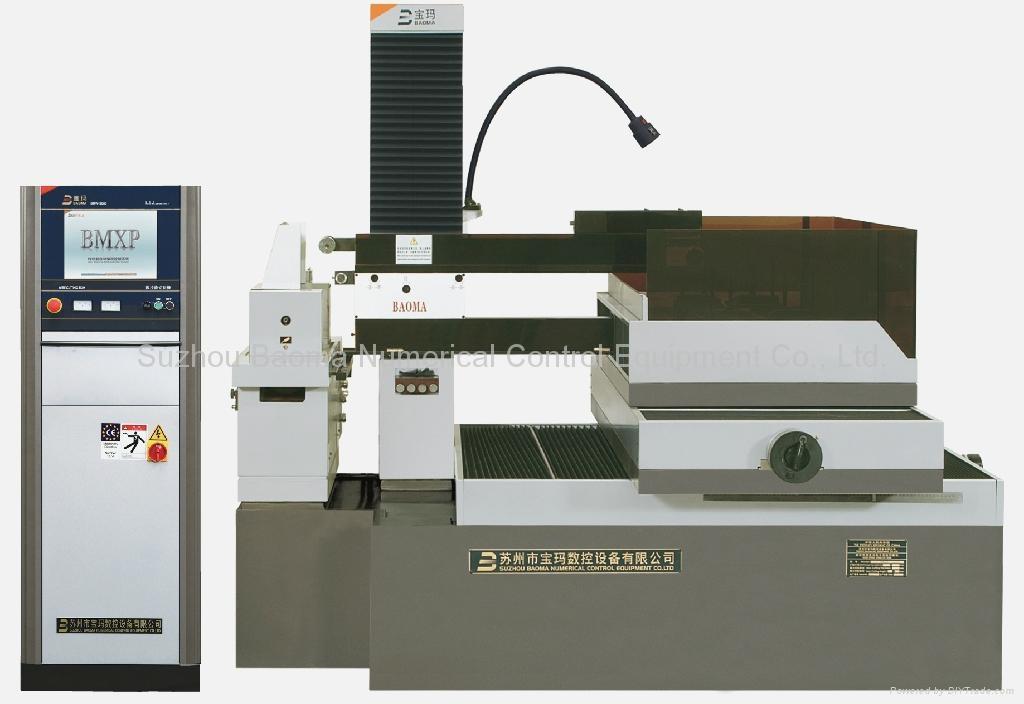 2008型中走絲線切割加工機(步進控制) DK7763 1