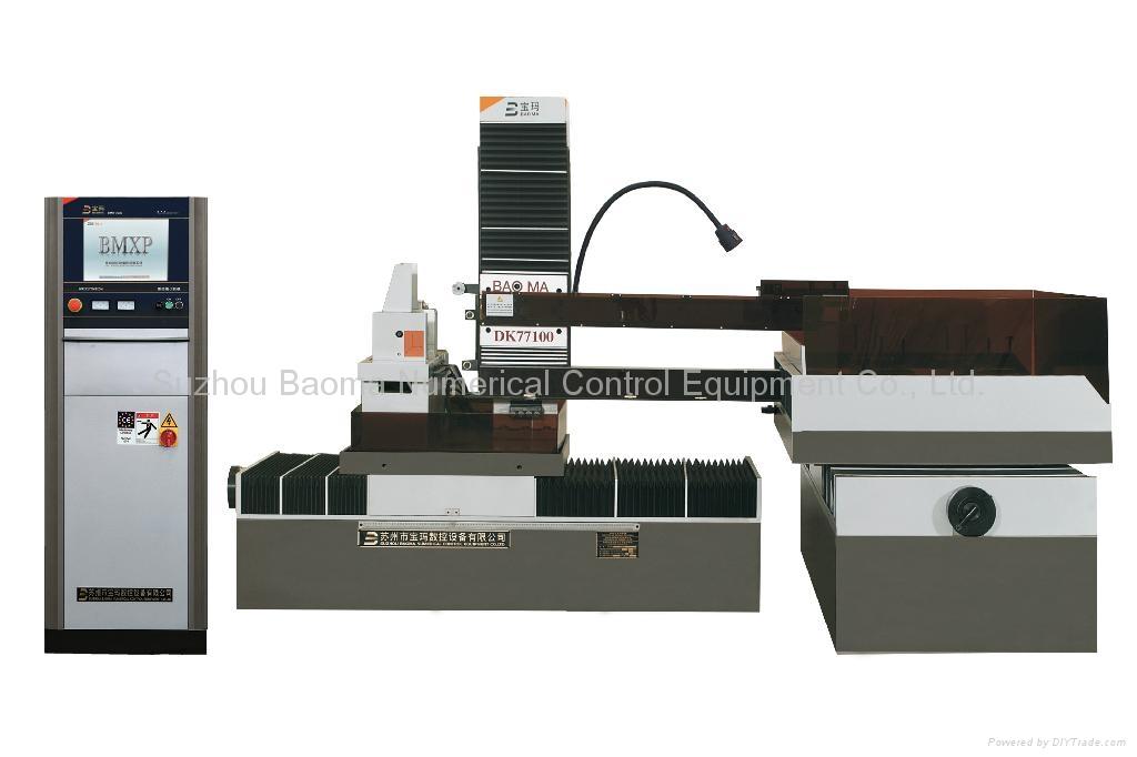 寶瑪中走絲數控線切割機DK77100 1