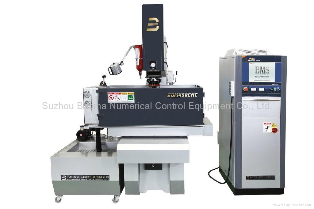 EDM450CNC 3 axis  AC Servo  CNC Sinker EDM  1