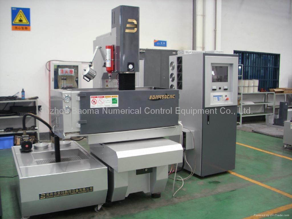 EDM450CNC 3 axis  AC Servo  CNC Sinker EDM  2