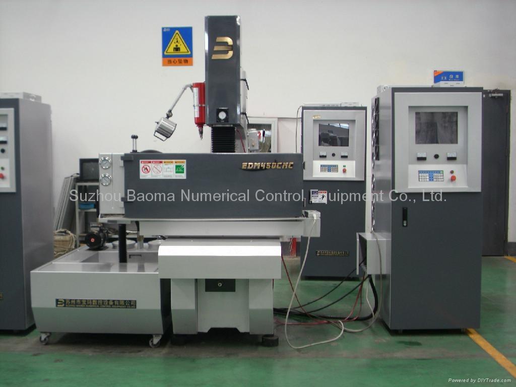 EDM450CNC 3 axis  AC Servo  CNC Sinker EDM  4