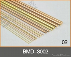 BMD-3002 Copper Electrode tube for EDM Hole Drilling