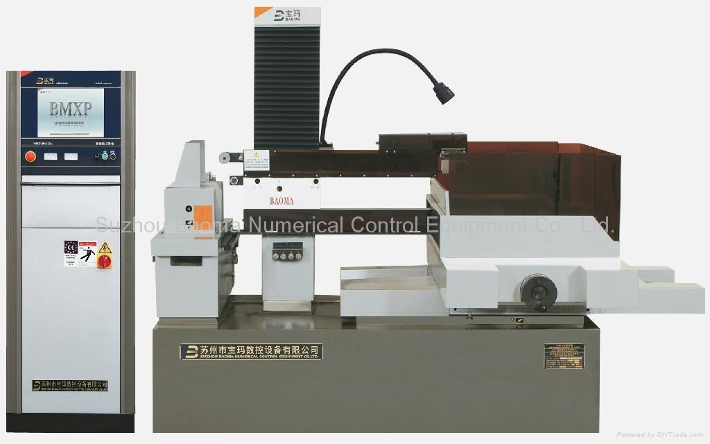 DK7750D小錐度步進控制中走絲線切割機 1