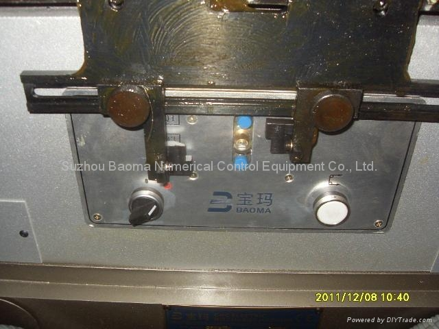 DK7750D小錐度步進控制中走絲線切割機 5