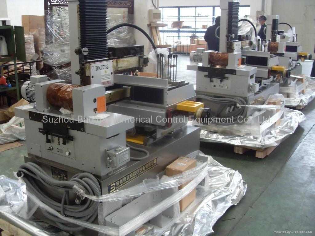 DK7732F Stepper Control small taper CNC Wire EDM Cutting - Suzhou ...