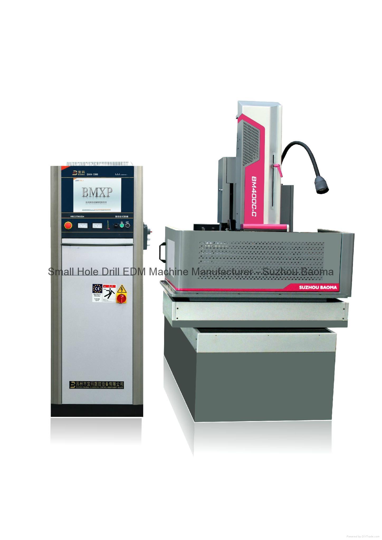 New Machinery-Wise CNC Medium Speed Wire Cut EDM BM400C-C 1