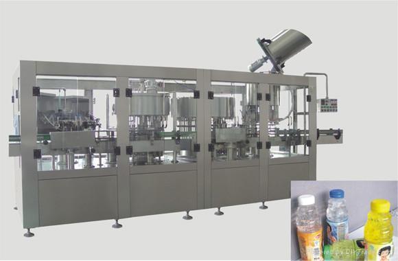 全自动果肉饮料灌装机 2