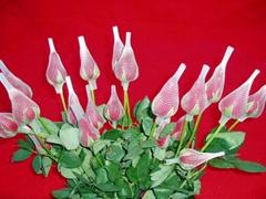 玫瑰花朵花蕾植物运输专用保护套
