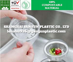 ECO Friendly Biodegradable Disposable Kitchen Sink Filter Cover Net Mesh Bag