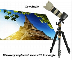 professional travel tripod Q555 for
