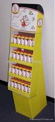 pop corrugated display stand
