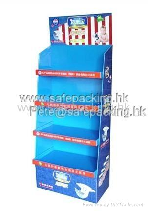 玩具紙貨架 1