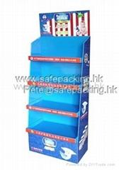 玩具紙貨架