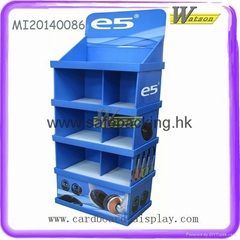 carbonated beverage corrugated display stands