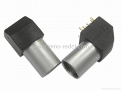 Lemo elbow socket-lemo connector